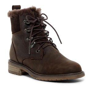 Emu AUSTRALIA Wool Lined Waterproof Boots Brown